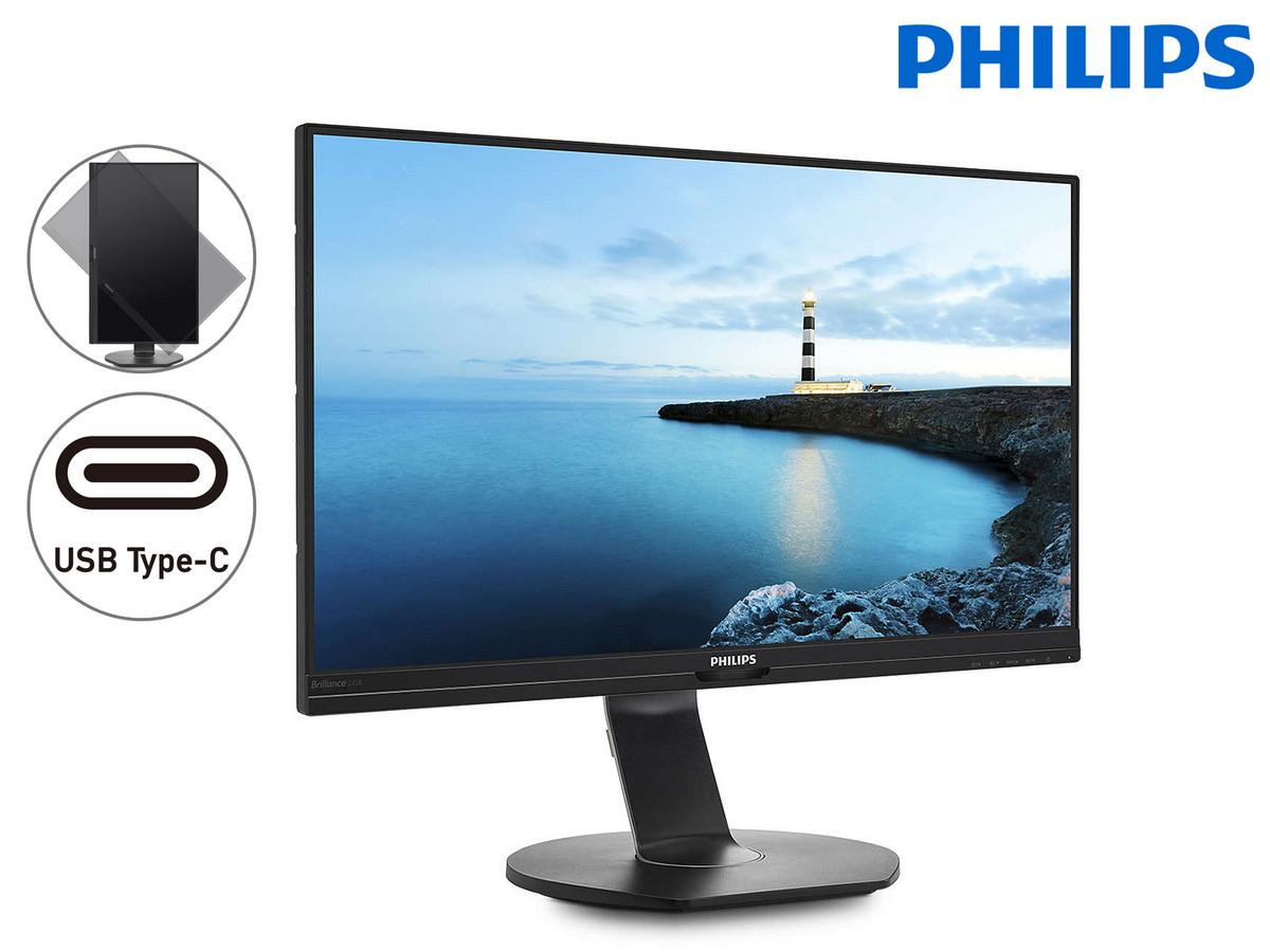 Bild zu 27 Zoll QHD-Monitor Philips 272B7QUPBEB für 288,90€ (Vergleich: 357,29€)