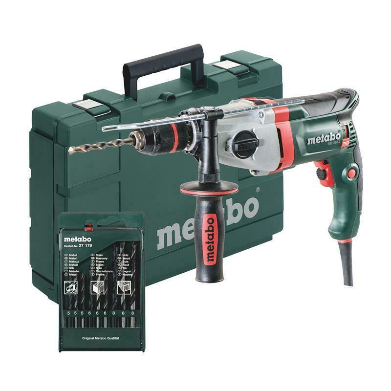 Bild zu Metabo Schlagbohrmaschine SBE 850-2 für 104,95€ (Vergleich: 119€)