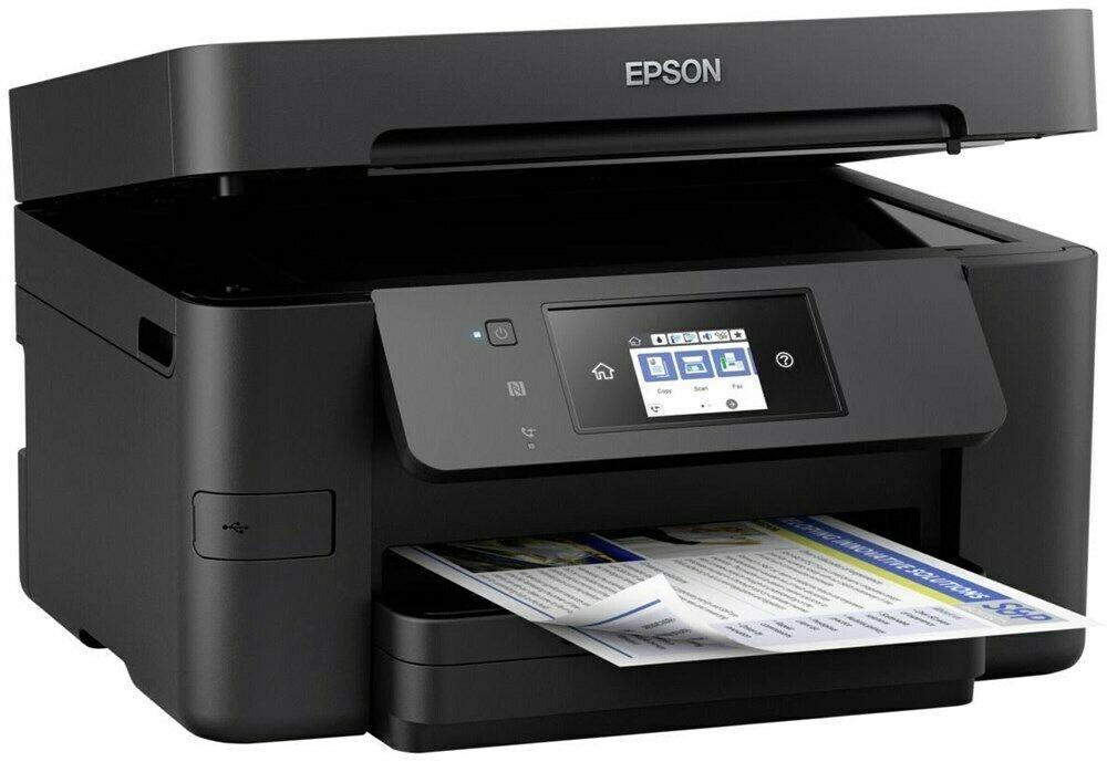 Bild zu Epson WorkForce Pro WF-3720DWF Tintenstrahldrucker für 74,90€ (Vergleich: 90,99€)