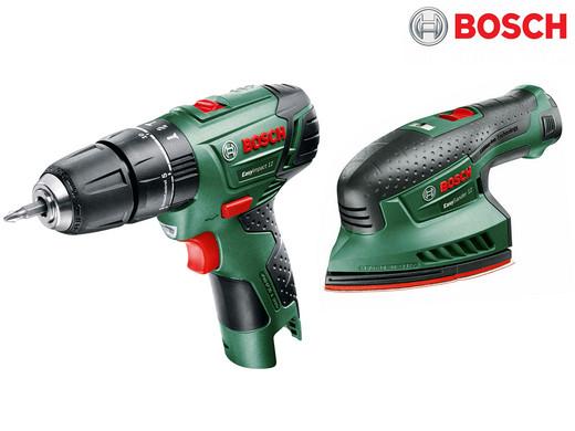 Bild zu Bosch EasyImpact Schlagbohrmaschine und EasySander Schleifmaschine für 105,90€ (Vergleich: 141,25€)