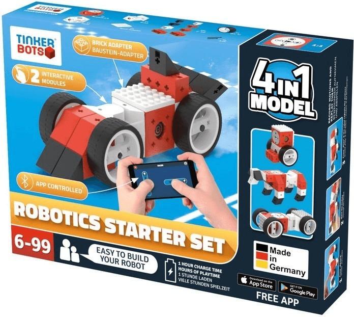 Bild zu Tinkerbots Robotics Starter Set (00046) für 115€ (Vergleich: 127,98€)