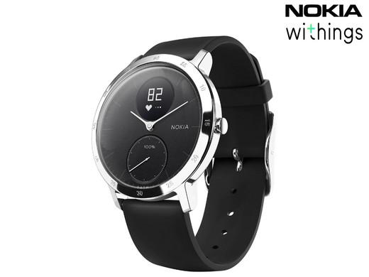 Bild zu Withings Steel HR Hybrid-Uhr mit Herzfrequenzmessung für 115,90€ (Vergleich: 149,90€)