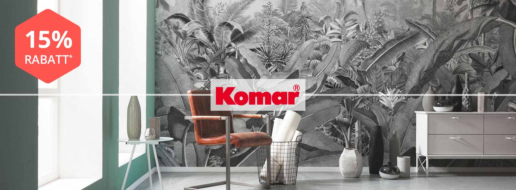 Bild zu yourhome: 15% Rabatt auf das gesamte Sortiment der Marke Komar