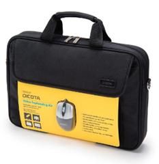 """Bild zu DICOTA Value Toploading Kit (Notebook-Tasche bis zu 15,6"""" inkl. optische Maus) für 9,90€ (Vergleich: 14,78€)"""