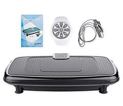 Bild zu FITRUN Fitness Vibrationsplatte mit 30 Intensitätsstufen (Touch LED Display) für 149,99€
