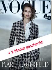 Bild zu Halbjahresabo der Vogue für 44,40€ + 45€ Amazon.de Gutschein als Prämie
