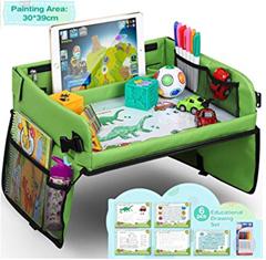 Bild zu Lenbest Kinder Reisetisch mit einem Zeichenbrett + 5 x Zeichenpapier + 6 Farbstifte für 16,19€