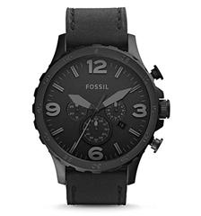 Bild zu Amazon.fr: Fossil Nate (JR1354) Herren Uhr Leder für 66,84€ (Vergleich: 99,98€)