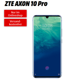Bild zu ZTE AXON 10 Pro für 49€ (VG: 499€) mit Vodafone Tarif (6GB LTE Daten, Sprachflat) für 16,99€/Monat