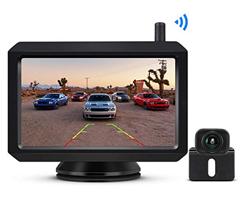 Bild zu BOSCAM K7 Wireless Rückfahrkamera und Monitor Set (IP68, 5″ LCD Monitor, Kabellose Einparkhilfe, Nachtsicht) für 83,29€