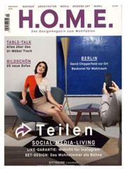 """Bild zu 10 Ausgaben der Zeitschrift """"H.O.M.E"""" für 40€ + 30€ Verrechnungsscheck für den Werber"""