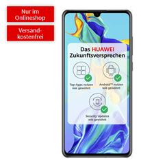 Bild zu Huawei P30 Dual SIM (einmalig 49€) mit Telekom green LTE Tarif (6GB LTE Datenvolumen, Allnet-Flat, EU-Roaming) für rechnerisch 16,99€/Monat