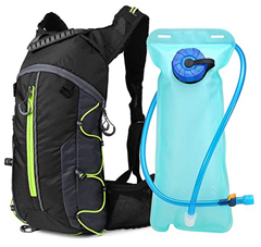 Bild zu Lixada Fahrradrucksack/Trinkrucksack mit 2L Wasserblase für 16,49€