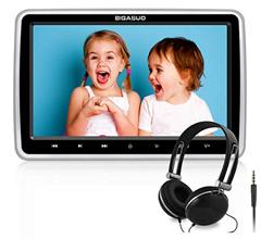 Bild zu BIGASUO 10.5″ Tragbarer Auto DVD Player mit Kopfhörer für 74,99€