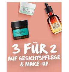 Bild zu The Body Shop: 3 für 2 Aktion auf Gesichtspflege & Make-up