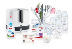 Bild zu NUK – Starter Set Hygiene 14-teilig für 79,99€ (Vergleich: 89,99€)