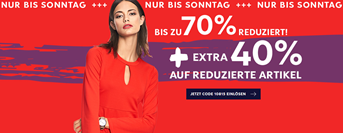 Bild zu Heine: Sale mit bis zu 70% Rabatt + 40% Extra Rabatt