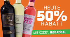 Bild zu Weinvorteil: 50% Rabatt auf alle regulären Weine