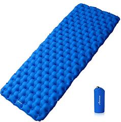 Bild zu MOVTOTOP Ultra-leichte, aufblasbare Isomatte (190 x 68 x 6 cm) für 19,79€