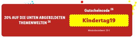 Bild zu Lidl: 20% Rabatt auf ausgewählte Kinder Themenwelten (ab 20€ MBW)