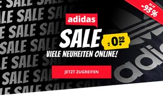 Bild zu SportSpar: adidas Sale mit bis zu 93% Rabatt, so Artikel bereits ab 1,49€ + 20% Extra-Rabatt ab 65€