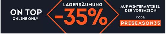 Bild zu SportScheck: 35% Extra Rabatt auf Winterartikel der Vorsaison