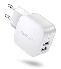 Bild zu RAVPower USB Ladegerät mit 2-Ports 17W für je 4,99€