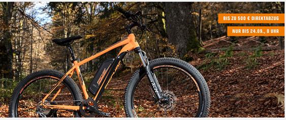 Bild zu Saturn: bis zu 500€ Direktabzug auf E-Bikes