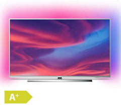 Bild zu Philips Ambilight 55PUS7304 (55 Zoll) 4K LED TV (HDR 10+, Android TV, Google Assistant, Alexa kompatibel, Dolby Atmos, EEK: A+) für 599,90€ (Vergleich: 664,05€)