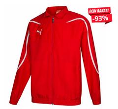 Bild zu PUMA PowerCat 1.10 Woven Jacke rot für 4,44€ zzgl. 3,95€ Versand