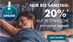 Bild zu Galeria.de: 20% Rabatt auf Bettwäsche
