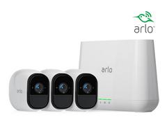 Bild zu Arlo Pro Sicherheitssystem mit 3 Kameras für 405,90€ (Vergleich: 529,90€)