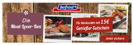 Bild zu 25€ bofrost* Gutschein für Neukunden (ab 50€ einlösbar)