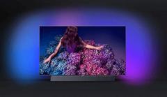 Bild zu PHILIPS 55OLED9134/12 OLED TV (Flat, 55 Zoll/139 cm, UHD 4K, SMART TV, Ambilight, Android™ 9.0 (P)) für 1.999€ (Vergleich: 2.499€)