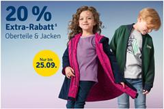 Bild zu MyToys: 20% Rabatt auf Oberteile & Jacken