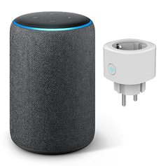 Bild zu AMAZON Echo Plus 2. Generation inkl. smarte Steckdose ab 110,93€ (Vergleich: 140€)