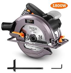 Bild zu TACKLIFE ECS01A Handkreissäge (1800W, bis zu 63mm Schnitttiefe, 4700 RPM) für 39,59€