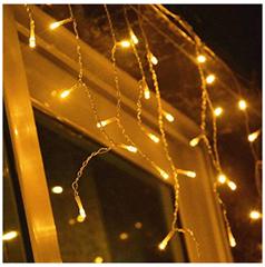 Bild zu VINGO LED Eisregen Lichterkette (IP 44, 200 LEDs) für 11,89€ (andere Modelle verfügbar)