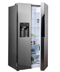 Bild zu LG GSL561PZUV Side-by-Side (Front Steel, Nutzinhalt 591 Liter, 4 Liter Wassertank, Total No Frost, A+) für 849€ (Vergleich: 977€)