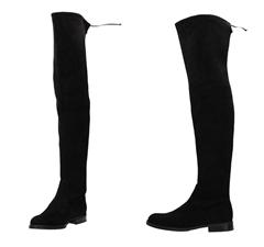 Bild zu BUFFALO Overknee-Stiefel Micro schwarz für 59,99€ (Vergleich: 100,69€)