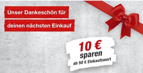 Bild zu Toom: 10€ Rabatt ab 50€ Einkaufswert
