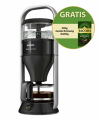 Bild zu Philips HD 5408/29 Café Gourmet Kaffeemaschine + 500g Jacobs Krönung Kräftig für 76,41€ (Vergleich: 91,39€)