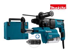 Bild zu Makita SDS+ Bohrhammer HR2651TJ (230V, 800W, mit Staubabsaugung) für 185,90€ (Vergleich: 229,90€)
