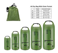 Bild zu Bfull Dry Bag Rucksack 5L/10L/20L (wasserdicht, 2 Außentaschen) ab 3,99€