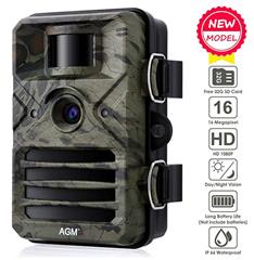 Bild zu AGM Wildkamera (16MP, 1080P, Full HD, 2.4″ LCD Display, 20m Nachtsicht, IP66) ab 39,99€