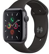 Bild zu Apple Watch Series 5 (GPS, 44 mm) Aluminiumgehäuse Space Grau für 395,46€ (VG: 461,66€)