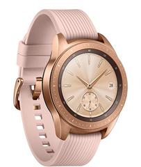 Bild zu [B-Ware] Samsung Galaxy Watch R810 rosegold 42mm für 179,91€ (Vergleich: 220,57€)