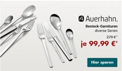 Bild zu verschiedene Auerhahn Bestecksets 60-teilig für je 104,94€ (Vergleich: 159,90€)