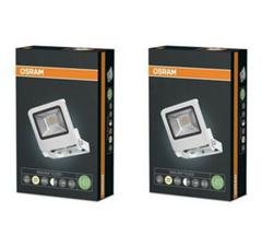 Bild zu Doppelpack Osram ENDURA FLOOD LED (10W, 3000K, Warm white, IP65, weiß) für 16,90€ (Vergleich: 20,27€)