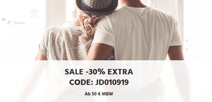 Bild zu [nur noch heute] Jeans Direct: Bis zu 80% Rabatt im Sale + 30% Extra-Rabatt durch Gutscheincode